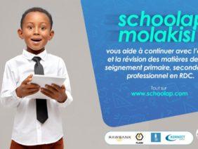 RD Congo: apprendre en Ligne avec Schoolap