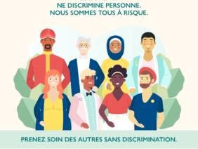 Covid-19 pas d'exclusion des minorités et pas de xénophobie
