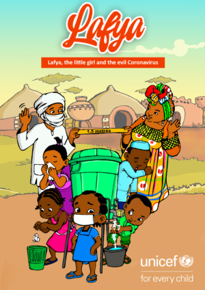 Childrens book: Lafya, the little girl and the evil Coronavirus