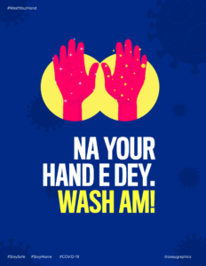 Na your hand e dey. Wash Am!