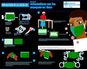 Guide pour la fabrication et la désinfection des masques en milieu communautaire