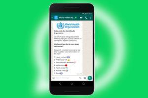 S'informer sur le #Coronavirus grâce à WhatsApp