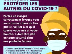 COVID-19: Comment protéger les autres?