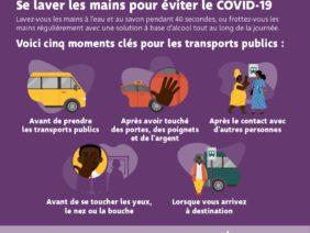 Mesures de prévention pour les transports publics