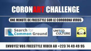 Coronart challenge: Une minute de freestyle sur coronavirus
