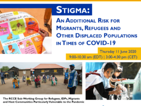 Join the Interagency RCCE Webinar on Stigma: an additional risk for migrants, refugees and other displaced populations in times of COVID19