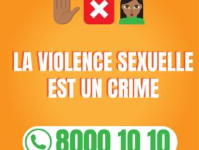 La violence sexuelle est un crime