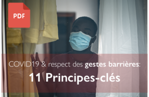 Respect des gestes barrières: 11 principes clés issues des sciences du comportement pour la communication et l'intervention.