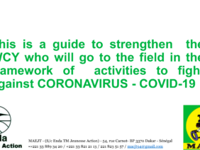 ENDA Guide to strengthen Working Children and Youth in the field to raise awareness on COVID19