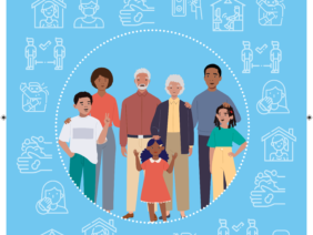 How to protect everyone from COVID19 in households with large or extended families