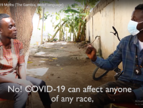 The Gambia: debunking COVID-19 myths in Wolof