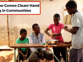 "Hand washing in Communities: ""Mr Tembo Comes Clean!""  Film available in English, Hausa, and Yoruba:"