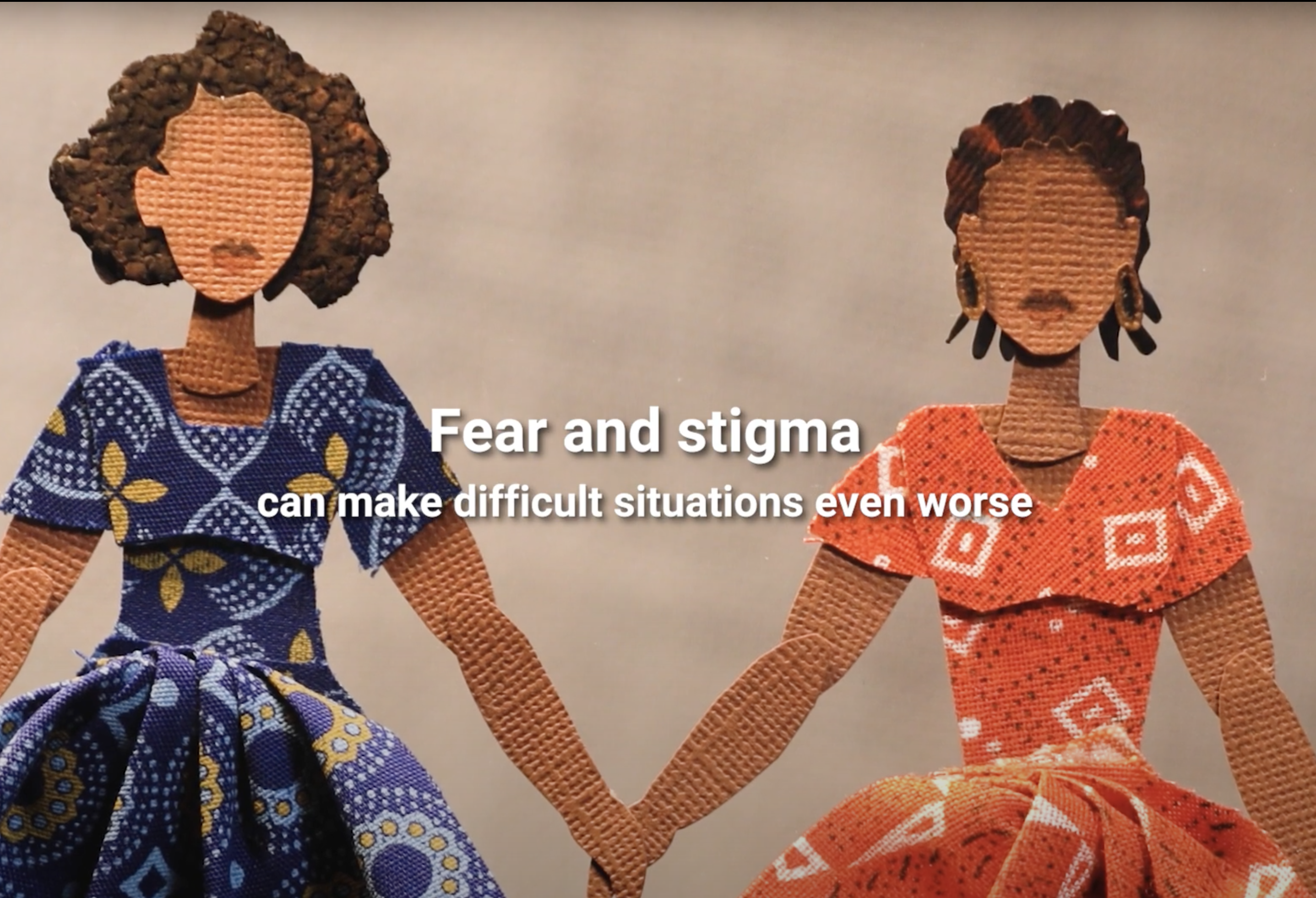 Stigma in times of COVID19: the story of Dorcas and Chantal