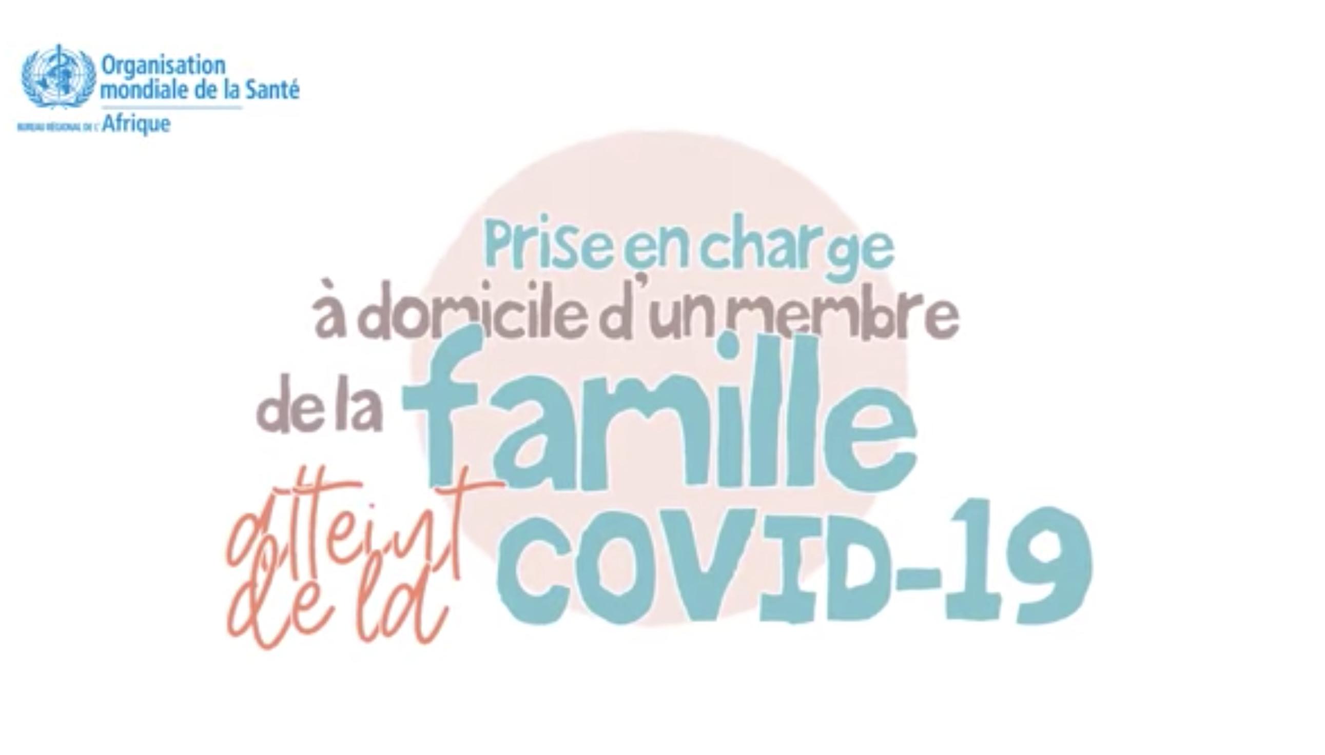Les étapes à suivre lorsque vous vous occupez d'une personne atteinte de COVID-19 à la maison