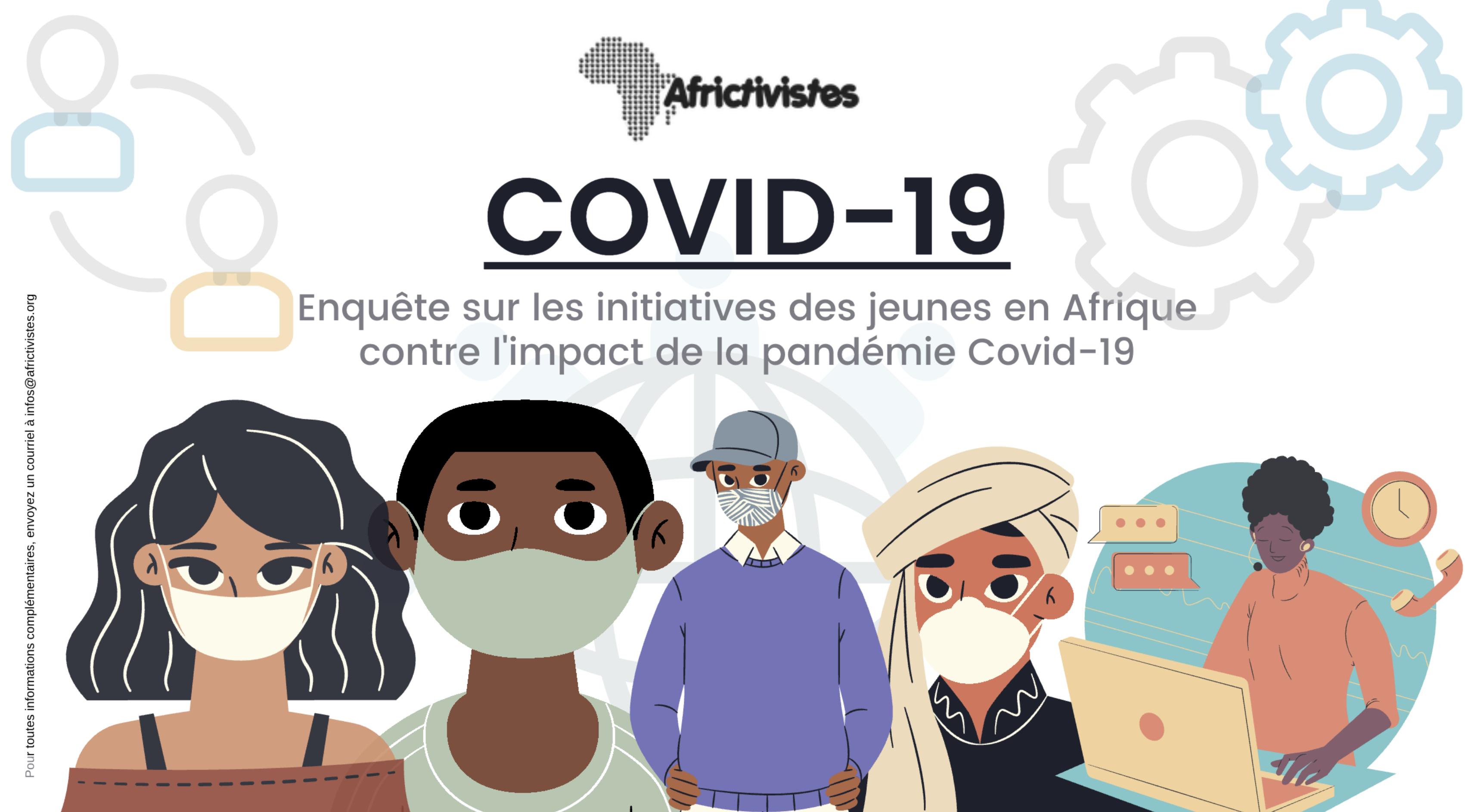 Cartographie d'initiatives de jeunes contre l'impact de la COVID-19