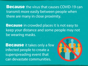 COVID-19: Why do we need to keep following public health and social measures ?