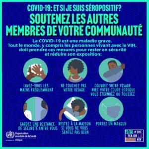 COVID-19: Solidarité avec les personnes vivant avec le VIH