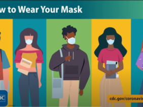 Wear a mask and prevent the spread of COVID-19