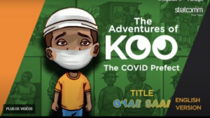 The adventure of Koo: a comic strip to fight against COVID-19