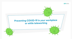 Preventing COVID-19 in your workplace or while teleworking