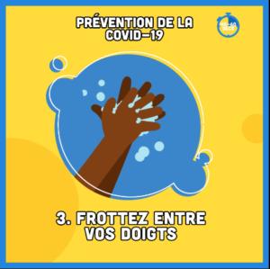 Vous souvenez-vous des étapes clés de lavage des mains ?