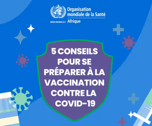 COVID-19 : 5 conseils pour vous préparer à la vaccination